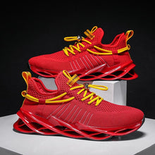 Load image into Gallery viewer, Mens Running Shoes Walking Non Slip Blade Type Sneakers