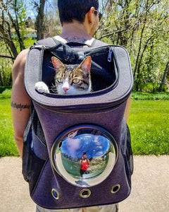 """The Fat Cat"" Cat Backpack - For Larger Cats"