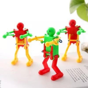 Wind Up Spring Dancing Robot Fancy Toy Gift for Children Kid