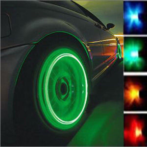 SO COOL!!!ONLY $5.99 - LED Tire Wheel Valve Caps