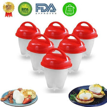 Load image into Gallery viewer, DIY Egg Cooker - Silicone Egg Cups 100% ZERO risk guarantee!