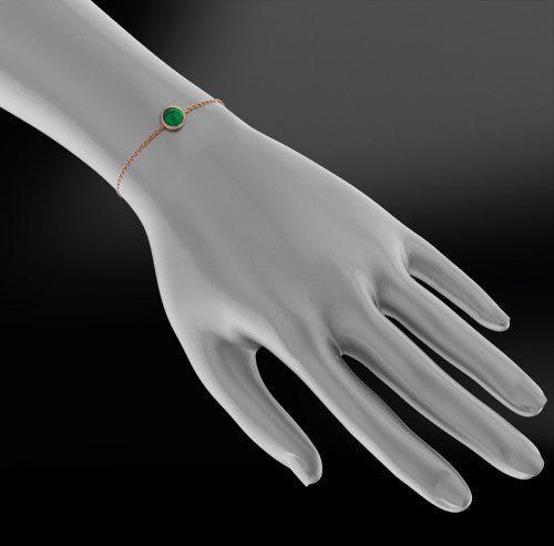 EMERALD - DIAMOND Bracelet