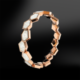 MOTHER OF PEARL Eternity Ring