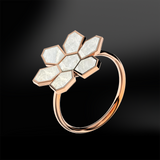 MOTHER OF PEARL Ring