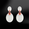 OPAL Drop Sanded Earrings