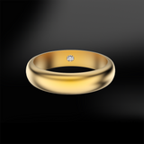 GOLD wedding band Ring
