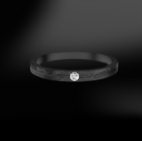 BRUSHED Diamond Ring