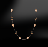 BLACK JADE - DIAMOND Necklace