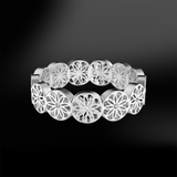 DIAMOND Eternity Sanded Ring