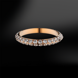 side DIAMOND Eternity Ring