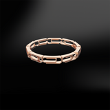 PAPER CLIP GOLD Ring