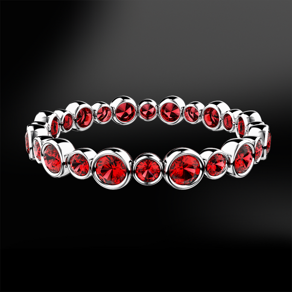 Ruby Eternity Gold Ring