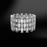 DIAMOND Round and Baguette Eternity Ring
