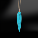 TURQUOISE - DIAMOND Necklace