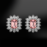 PINK & WHITE DIAMOND Earrings
