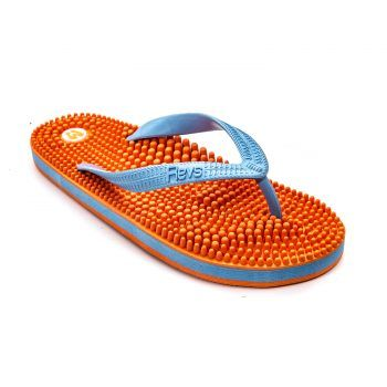 Reflexology Flip Flops, Signature by Revs