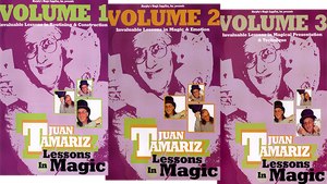 3 Vol. Combo Juan Tamariz Lessons in Magic video DOWNLOAD