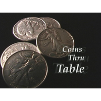 Coins Thru Table (excerpt from Extreme Dean #2) by Dean Dill - video DOWNLOAD