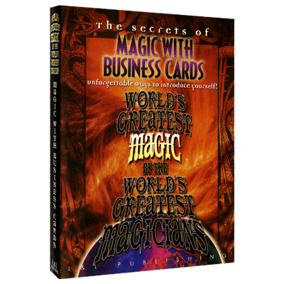 Magic with Business Cards (World's Greatest Magic) video DOWNLOAD