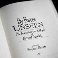 By Forces Unseen by Ernest Earick & Stephen Minch - Book