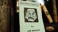 Horror Magic by Jim Magus - Book