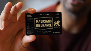 Magician's Insurance Card by Vinny Sagoo