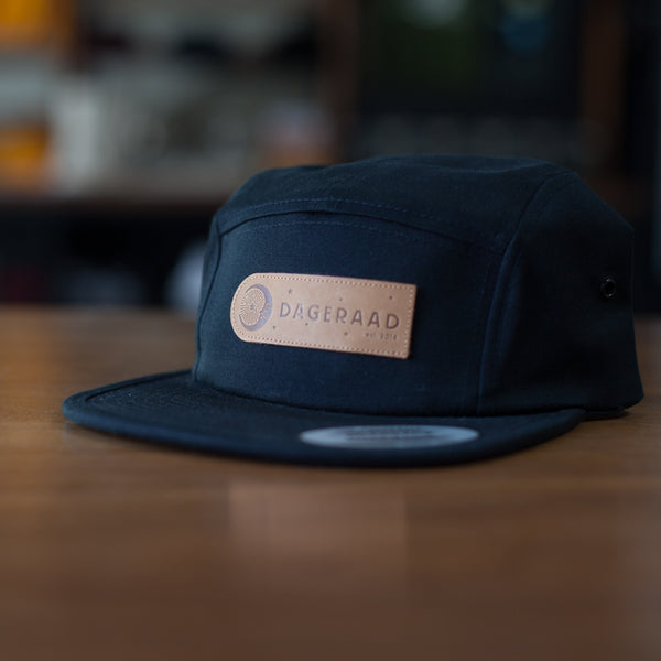 5 panel hats w/ leather Dageraad patch