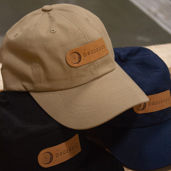 Dad hats w/ leather Dageraad patch