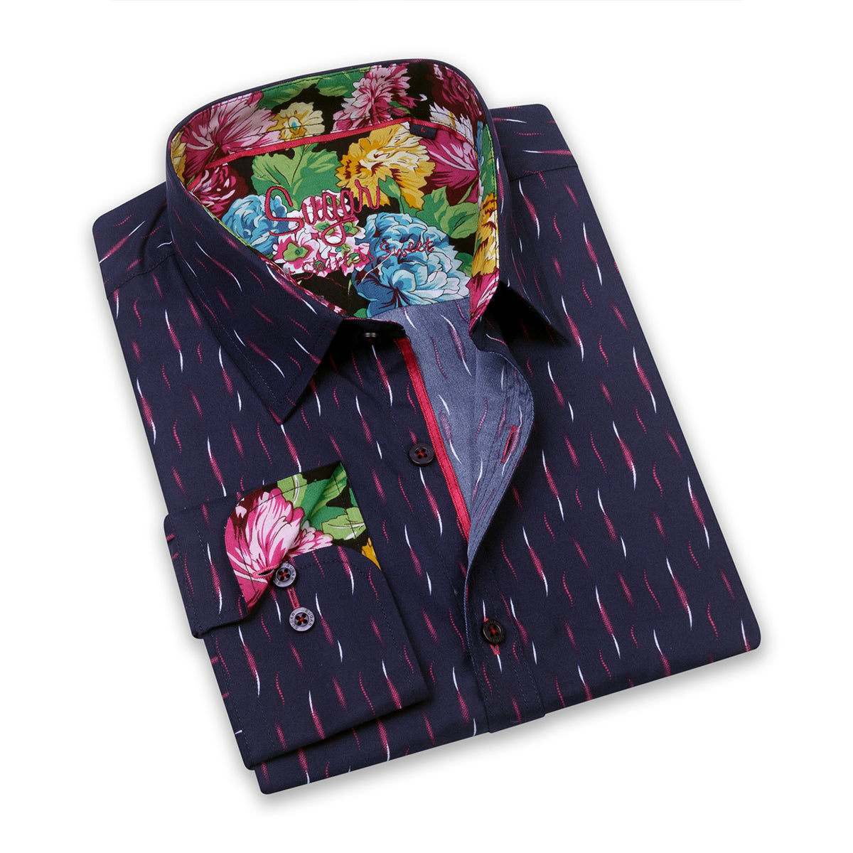 SUGAR - PLUME MIDNIGHT DRESS SHIRT