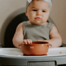 Load image into Gallery viewer, BABY BOWL | SUCTION BOWL | GINGER - THE DEAREST GREY