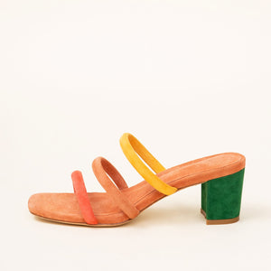BELLE | RAINBOW - CHARLOTTE STONE SHOES