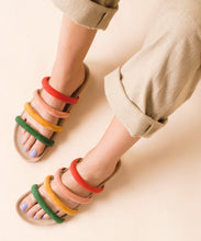 Load image into Gallery viewer, GLORIA | RAINBOW - CHARLOTTE STONE SHOES