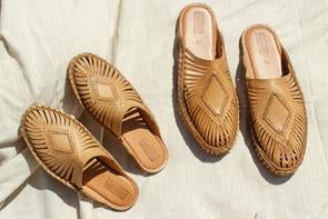 DIAMOND SLIDE | NATURAL LEATHER - MOHINDERS