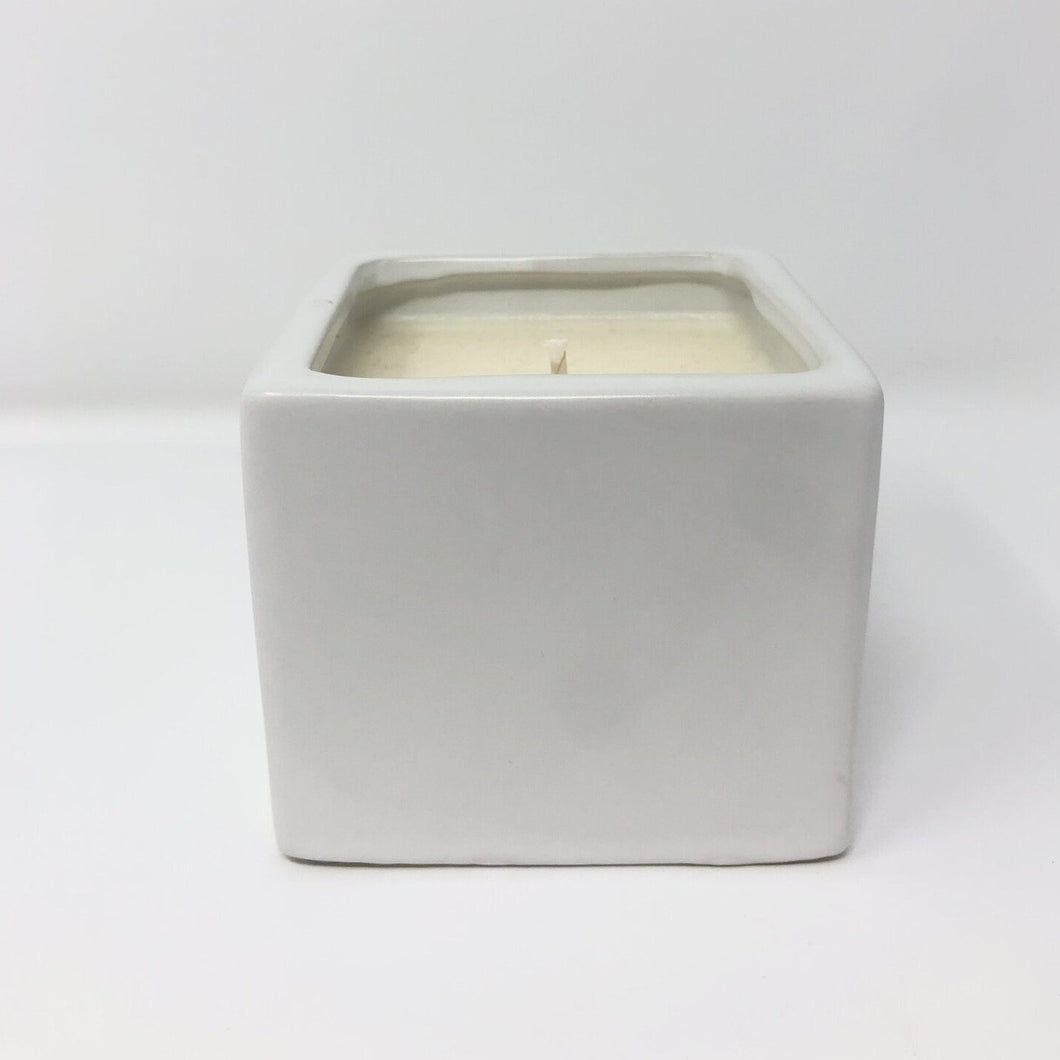 DUSK WHITE SQUARE CANDLE