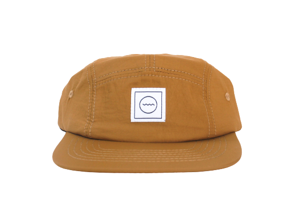 CLAY FIVE-PANEL HAT - RAD RIVER CO