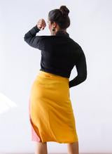 Load image into Gallery viewer, NADINE WRAP SKIRT- SEEK COLLECTIVE