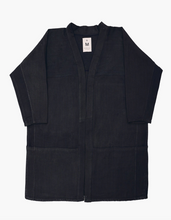 Load image into Gallery viewer, BLACK TWILL POCKET HANTEN - NEW MARKET GOODS
