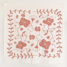 Load image into Gallery viewer, NASTURTIUM TEA TOWEL | CLAY - ELANA GABRIELLE