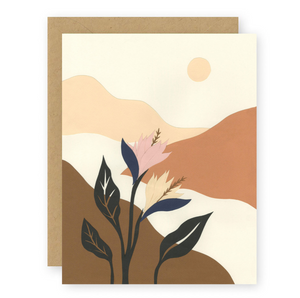 A WALK IN THE VALLEY CARD - ELANA GABRIELLE