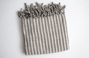 KUPA LINEN TURKISH THROW - HUMBLE & GRAND