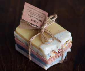 ARTISAN NATURAL SOAP SET | THE DISCOVERY SET - OJAI BOTANIKA
