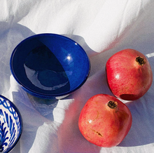 Load image into Gallery viewer, SMALL BOWL WITH BLUE GLAZE - POMELO