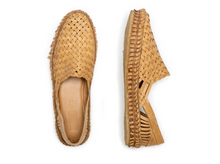 Load image into Gallery viewer, WOVEN SHOE / NATURAL LEATHER | MEN'S - MOHINDERS