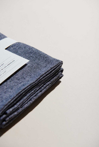 JAPANESE CHAMBRAY NAPKINS - ATELIER SAUCIER