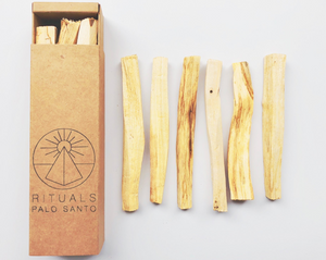 PALO SANTO WOOD | 6 PACK - RITUALS INCENSE