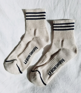 GIRLFRIEND SOCKS | OATMEAL
