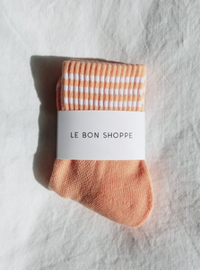 GIRLFRIEND SOCKS | GRAPEFRUIT