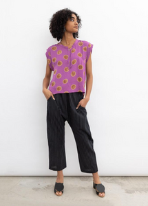 KERRY TOP | ORCHID POLKA DOT - SEEK COLLECTIVE