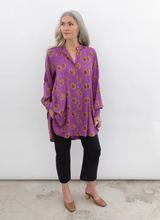 Load image into Gallery viewer, SONIA DRESS | ORCHID POLKA DOT - SEEK COLLECTIVE