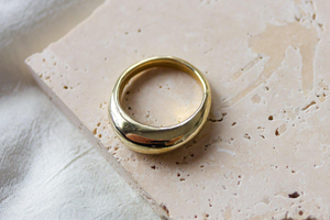 ARCH RING | BRASS - DEA DIA